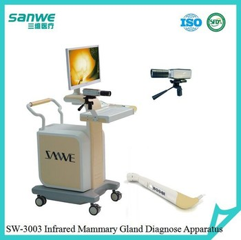 Trolley Infrared Mammary Gland Inspection Machine,Infrared breast examination system