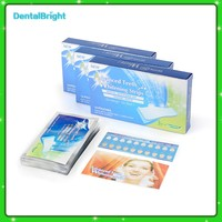 Non peroxide/6%HP teeth whitening teeth whitening strips private label
