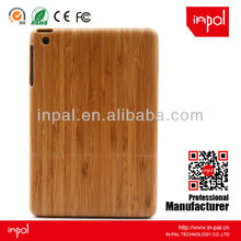 Retro bamboo case for ipad,for ipad mini