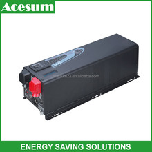 hot sale pure sine wave solar inverter with 60A battery charger MPPT for solar power system