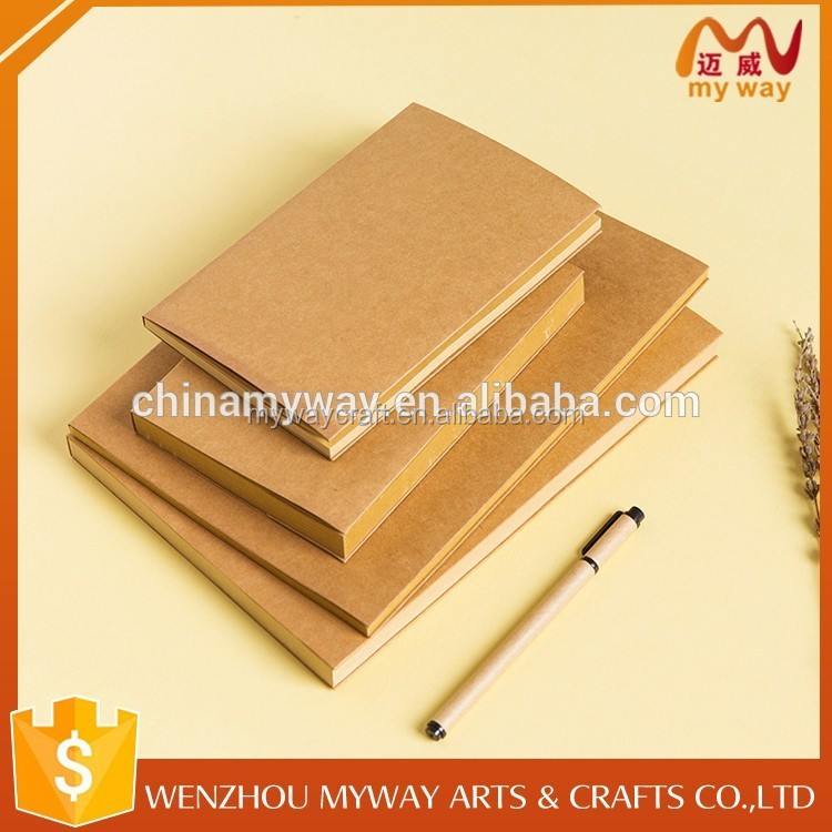 Great material promotion recyclable stationery paper notebook