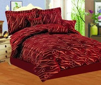 Wholesale 7pc Jacquard Bedding Set