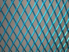 Copper Glazing Expanded Metal Mesh