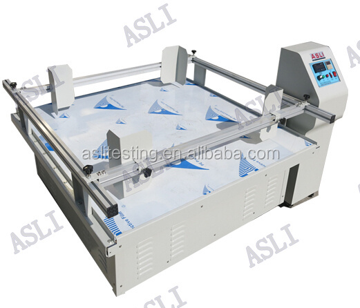 Box Package Furniture transport simulation vibration test machine/vibration bed stand