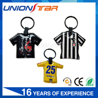 Customized T-shirt Shape Led Keychain Light, Starflex Led Light Keychain