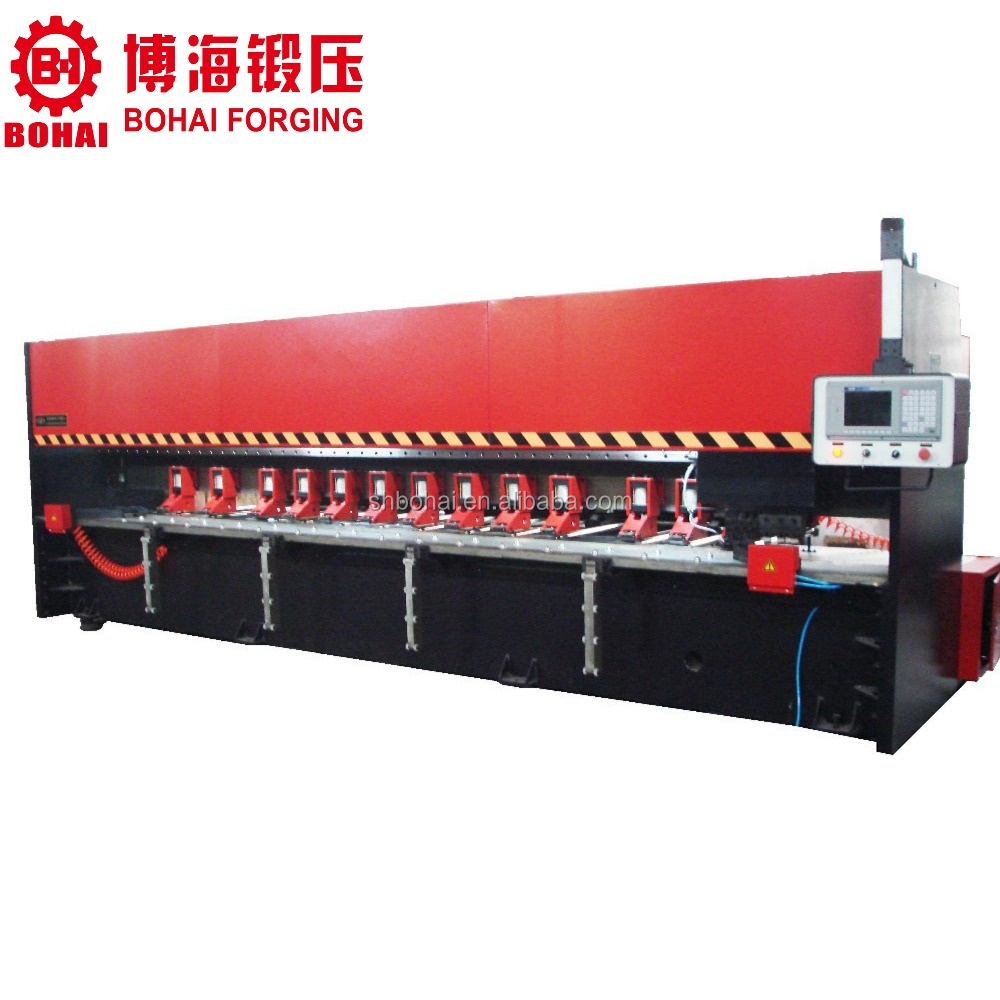 stainless steel cnc metal sheet grooving machine, V piercing machine for cabients doors, Elevator