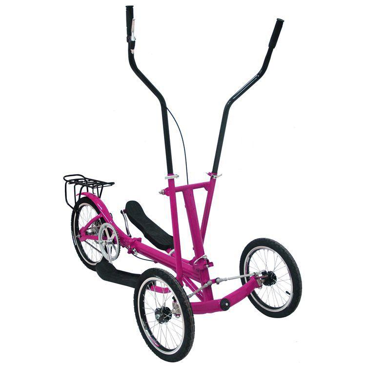 Elliptical Road Bike Cost: 3 Wheel Adult Outdoor Riding Bodybuilding Elliptical