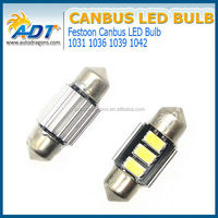 Hot selling car led light 5630 SMD 31mm 36mm 39mm 42mm with aluminium heat dissipation auto parts
