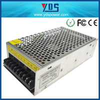 12v 25a 300w IP20 110v dc output power supply for led with ce approved