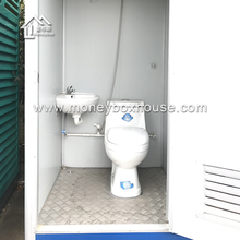 Movable toilet wc style optional/ convenient mobile lavatory cabins XN014