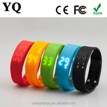 2016 hot selling W2 cheapest high quality Multifunctional 3D USB Pedometer Smart Bracelet W2
