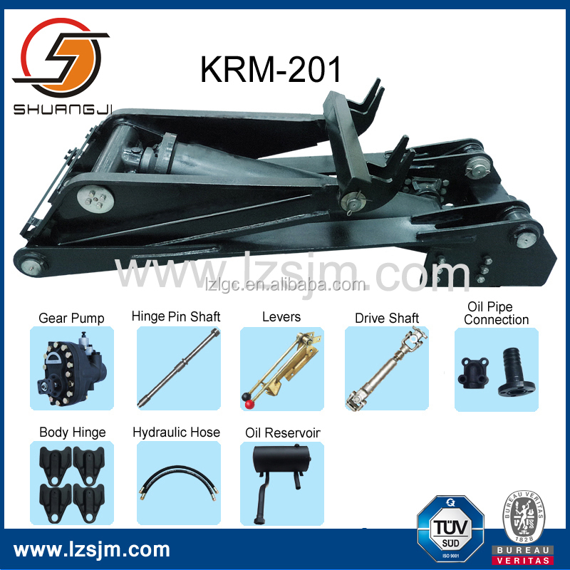 OEM Durable Dumpster Parts of KRM-201Dump Hoist Manufacture