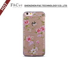 Clear for iPhone 6 / 6S Case Thin Transparent Soft Gel TPU Silicone Case Cover Fashion Skin For iPhone