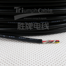 UL 2725 PVC multi-conductor shielded cable