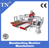 cnc wood combined machining center with router and driller