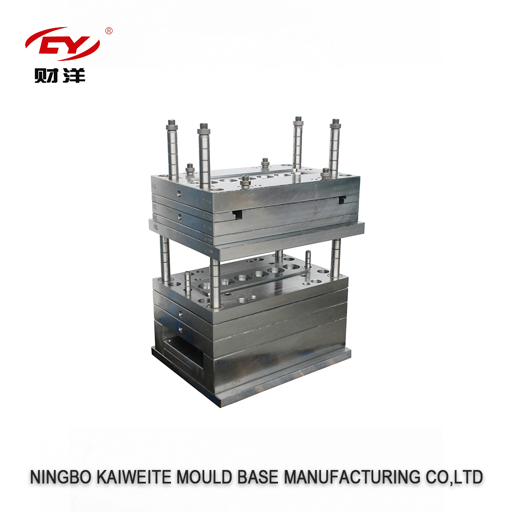 Factory hot sales forging and machined rotational mould base