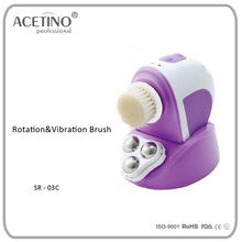 Electric rotary Face slimmer Skin moisturizing facial pore cleansing rotary brush
