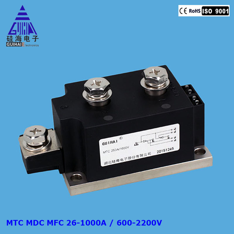 MDC 300A 1600V Soft Starter Used Rectifier Diode Power Module