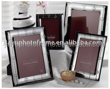 Good photo frame,metal silver plated photo frame, picture frame