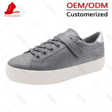 Classical Fashionable flat children canvas shoe