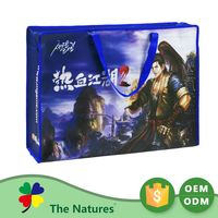 Promotions Samples Are Available Customization Non Woven Environmental-Friendly Plastic Travel Kit Bag Ice Pop