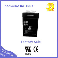 Maintenance free Lead acid battery 4v2ah for electronic scale