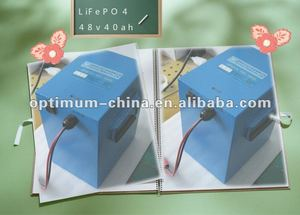 LiFePo4 battery 48V 40Ah for e-motorcycle ,e-quadricycle