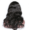 xblhair new stock virgin brazilian body wave hair wig natural hairline full lace wig