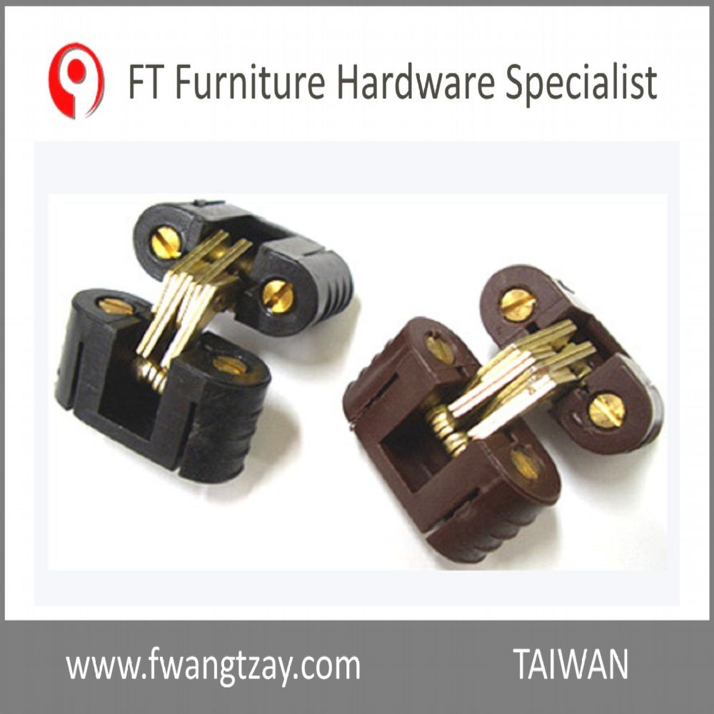 Taiwan Hardware Manufacturer Highest Quality 180 Degree Plastic Furniture Desk Connecting Hinge