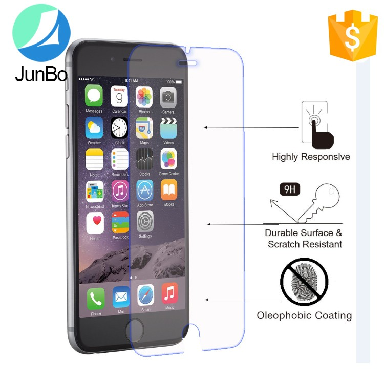 Christmas Sales Trade Assurance cell phone screen protector tempered glass for iPhone 7