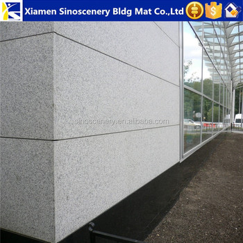 Cheap grey granite tiles flamed surface for wall cladding