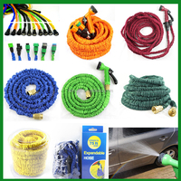 tv liquidation 25/50/75/100/150FT Brass Fitting Water Expandable Garden Hose/retractable hose pipe/magic garden hose
