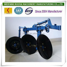 CHINA NEW MADE DIESEL ENGINE TRACTOR DISC PLOW FOR SALE! LOW PRICE MINI TRACTOR WITH DISC PLOUGH FOR WHOLESALE!