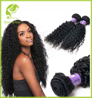 12 14 16 18 Full Length Full Blossom Bundles Virgin Curly Hair, Kinky Curly Virgin Hair Bundles