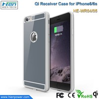 Highly Efficiency 78% Wireless Charger Protective Case for iPhone 5 and iPhone 6