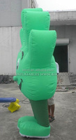 Inflatable funny hand cartoon costume, cheap inflatable costume for sale K6015