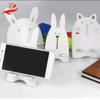laser cut phone mobile holder OEM display stand