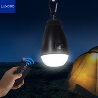 Rechargeable Remote Control Waterproof IP65 Cool White LED Camping Lamps