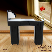 2016 nail bar furniture manicure table design (KZM-N049)