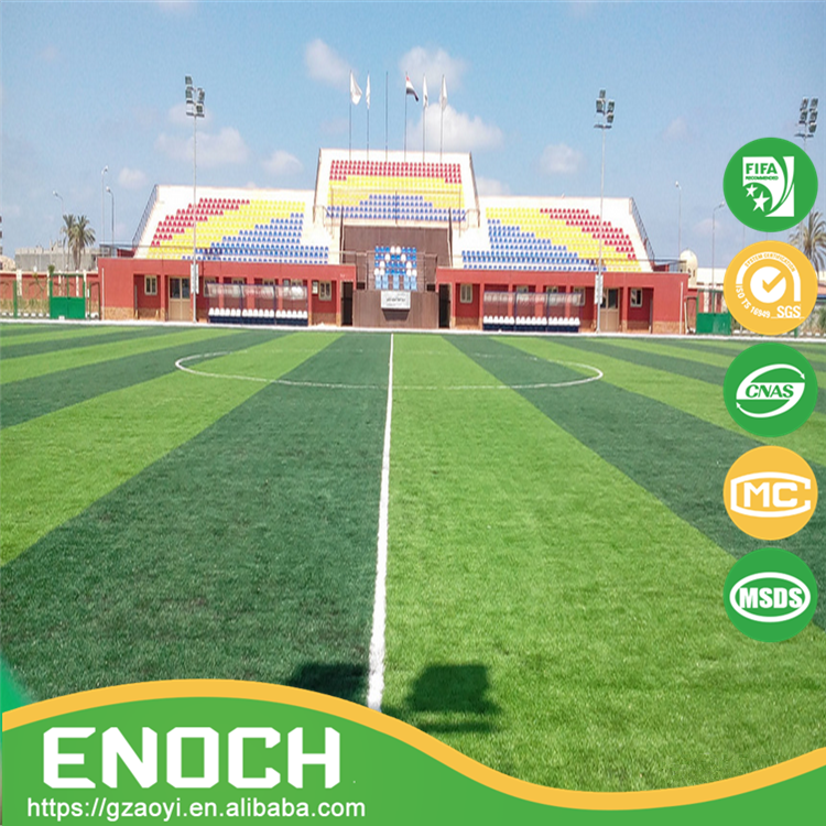 Reasonable price high perfomance outdoor sports two color FIFA series Artificial grass