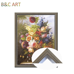 Ailbaba china wholesaler artwork decor b1 size picture plastic floater frame