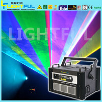 10w rgb stage laser light for Advertising projector