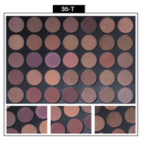 Low MOQ eyeshadow 35 colors morphe eyeshadow palette