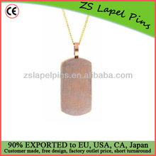 promotional metal blank dog tags for laser engraving
