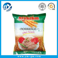 Customized decorative boiling plastic food bag