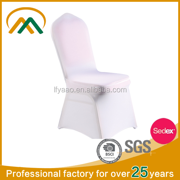 Wholesale cheap white used chair covers for sale KP-CV001