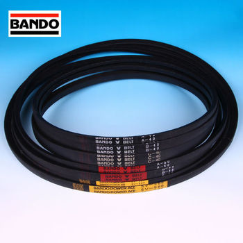 Bando Chemical Industries high quality industrial and agricultural transmission wedge & V-belts. Made in Japan (Bando belt)