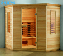 Home bathroom personal miracle heat far infrared sauna cabinet