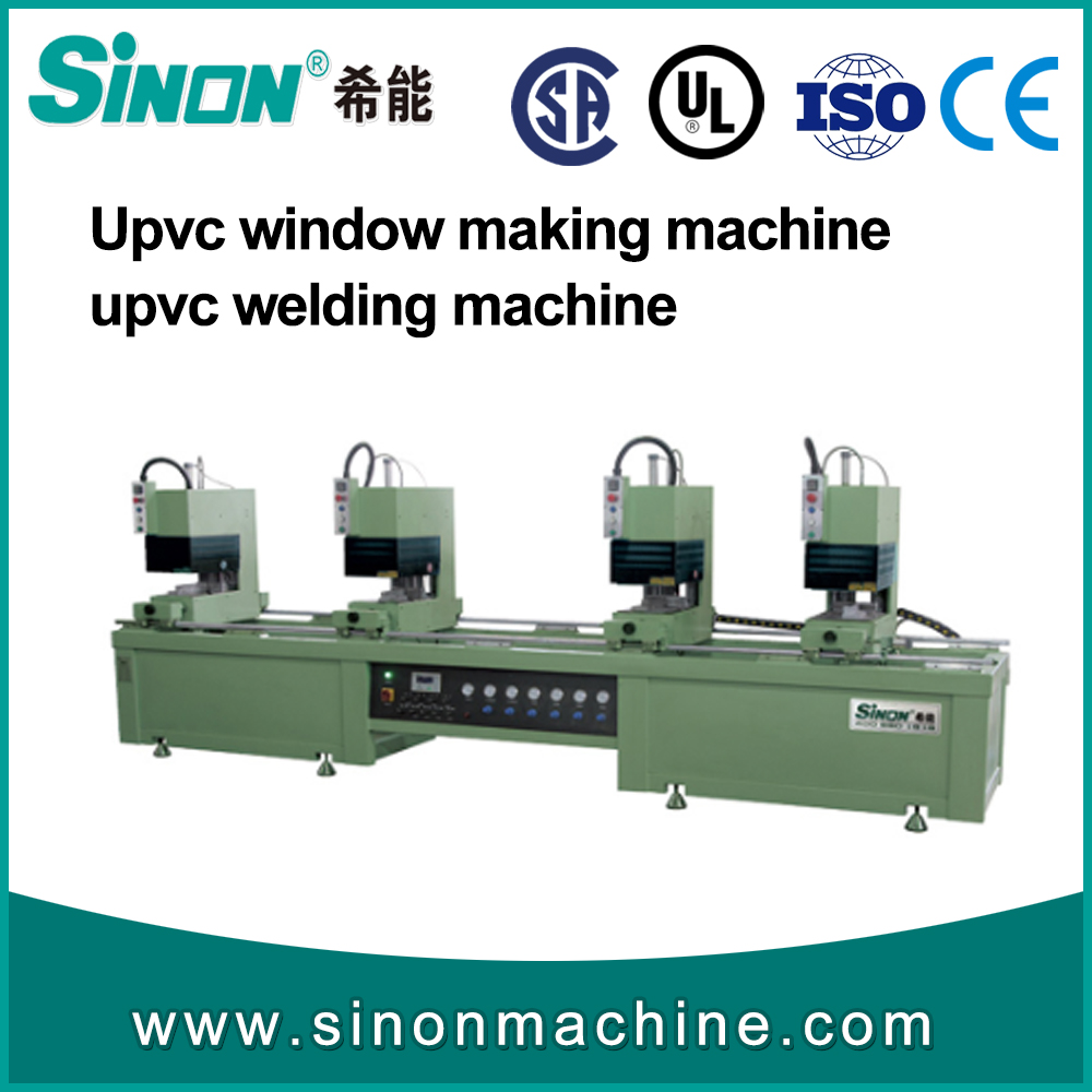 upvc profile welding machine for high quality PVC window manufacturer