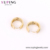 E-647 xuping jewelry newest trending simple items popular designer elegant 24k gold hoop earring